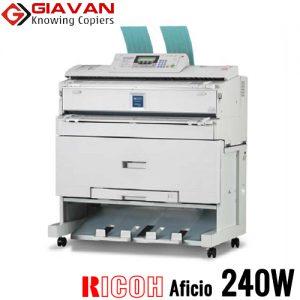 Máy photocopy khổ lớn A0 Ricoh Aficio 240W