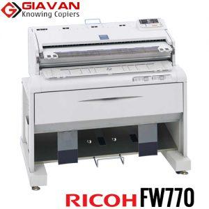 Máy photocopy khổ lớn a0 ricoh fw770