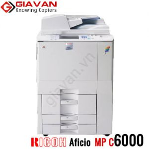 Máy photocopy mau Ricoh aficio mp c6000