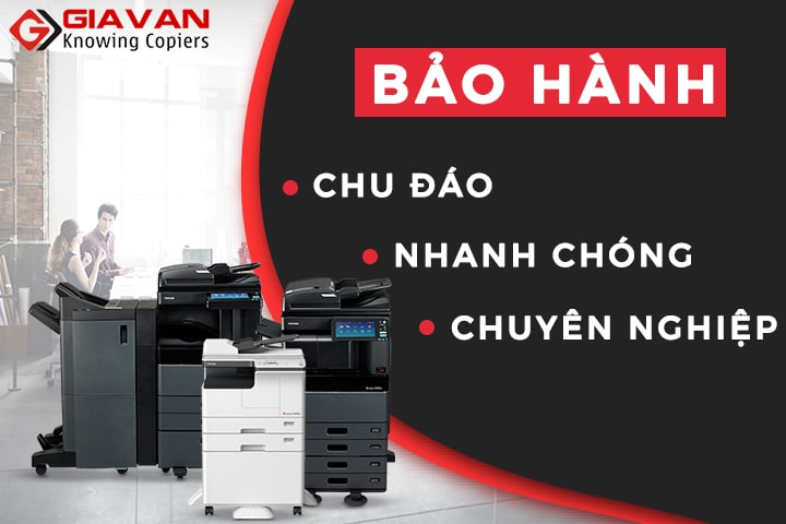 bao hanh may photocopy tai giavan