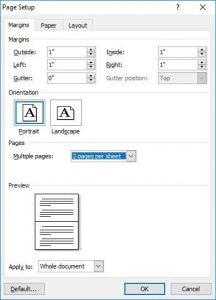 cách in tài liệu