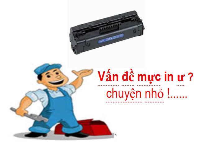 nguyên nhân máy photocopy mờ mực