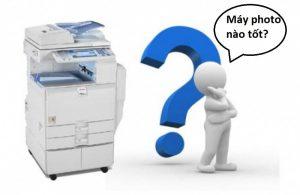 nên mua máy photocopy của hãng nào