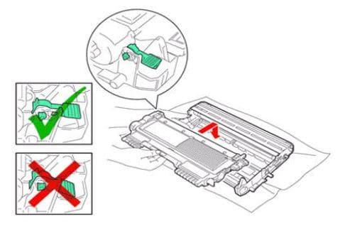 Cách lấy hộp mực ra khỏi trống
