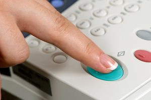 Nút Start máy photocopy