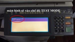 Chế độ Test Mode D